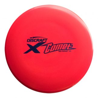 Discraft Comet - Red X plastic - Black Stamp