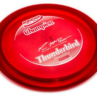 Innova Champion Thunderbird Red with white stamp
