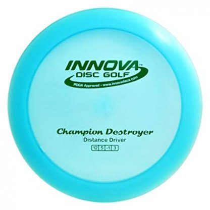 Innova Champion Destroyer Blue with green stamp