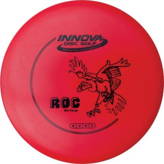 Innova DX Roc Red with Black Stock Stamp