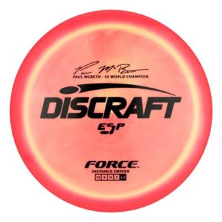 McBeth Force - Orange/Yellow with Black stamp