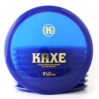 Kastaplast Kaxe Blue with gold stamp
