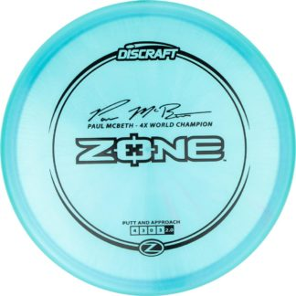 McBeth Zone - Blue with black stamp