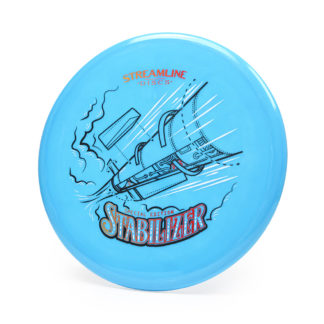 Streamline Stabilizer - Blue with 3 foil SE stamp