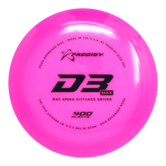 D3 Max Pink with Black stamp