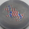 Fighter - gray - special-blend - flag - 172g - somewhat-domey - somewhat-stiff