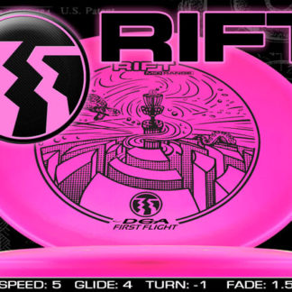 DGA Rift - Pink with Black stamp