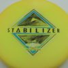 Stabilizer - Eclipse - SE - glow-yellow - silver-holographic - blue - black - 173g - 3311 - super-flat - neutral