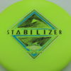 Stabilizer - Eclipse - SE - glow-yellow-green - silver-holographic - blue - black - 174g - 3311 - super-flat - neutral