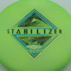 Stabilizer - Eclipse - SE - glow-green-2 - silver-holographic - blue - black - 169g - 3311 - super-flat - neutral
