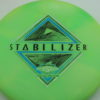 Stabilizer - Eclipse - SE - glow-light-green - silver-holographic - blue - black - 169g - 3311 - super-flat - neutral