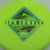 Stabilizer - Eclipse - SE - glow-yellow-green - silver-holographic - blue - black - 173g - 3311 - super-flat - neutral