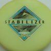 Stabilizer - Eclipse - SE - glow-light-yellow - silver-holographic - blue - black - 166g - 3311 - super-flat - neutral