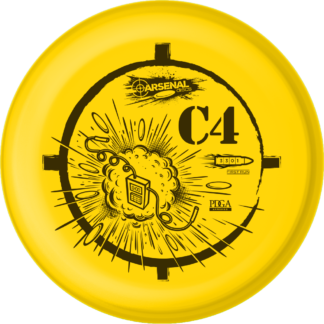 Arsenal C4 - Yellow with black stamp