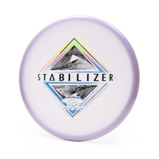 Streamline Eclipse Stabilizer SE purple glow plastic with 3 foil special edition stamp.