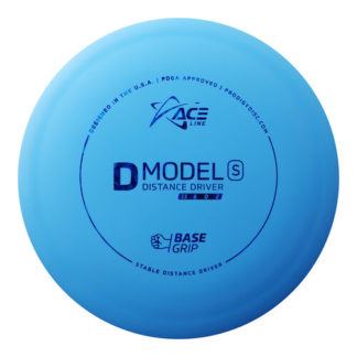 ACE Line Prodigy D Model S in blue BaseGrip plastic.