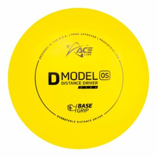 The D Model OS by Ace Line powered by Prodigy in yellow plastic.