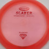 Slayer - pink - diamond - red-fracture - 173g - somewhat-flat - neutral