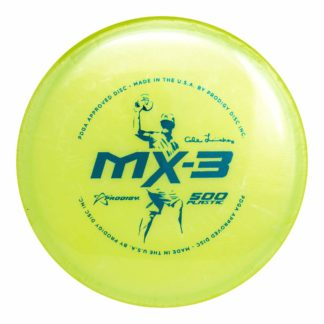 Cale MX-3 in pearly yellow 500 plastic.