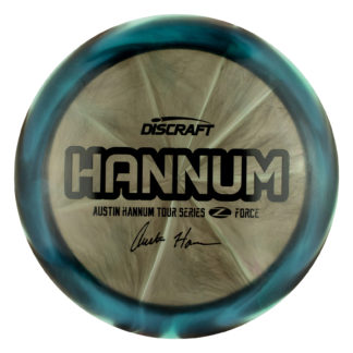 Austin Hannum Z Force. 2020 Tour Series Force. Austin Hannum Force. Swirly Z Force. Discraft Force.