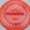 BioFuzion Raider - pinkorange - black - red-fracture - 175g - 176-1g - somewhat-domey - somewhat-stiff
