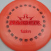 BioFuzion Raider - pinkorange - black - red-fracture - 175g - 176-1g - neutral - somewhat-stiff