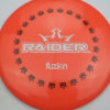 BioFuzion Raider - pinkorange - black - white - 174g - 175-9g - neutral - somewhat-stiff