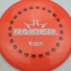 BioFuzion Raider - pinkorange - black - white - 175g - 176-3g - neutral - somewhat-stiff