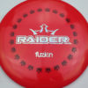 BioFuzion Raider - red - black - silver-fracture - 174g - 175-4g - neutral - somewhat-stiff