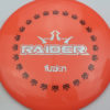 BioFuzion Raider - pinkorange - black - silver-fracture - 174g - 176-0g - somewhat-domey - somewhat-stiff