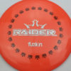 BioFuzion Raider - pinkorange - black - silver-fracture - 174g - 175-9g - somewhat-domey - somewhat-stiff