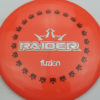 BioFuzion Raider - pinkorange - black - silver-fracture - 175g - 176-1g - neutral - somewhat-stiff
