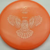 RuRu - orange - atomic - gold-dots-mini - 171g - 172-5g - slight-dome-to-a-puddle-top-center - somewhat-gummy