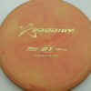 PA1 - blend-red-orange - 350 - gold - 304 - 146g - 146-0g - somewhat-puddle-top - somewhat-stiff