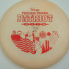 Patriot - light-orange - pinnacle - red-lines - 304 - 166g - 166-7g - somewhat-puddle-top - pretty-gummy