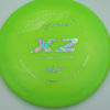 X2 - green - 400g - oil-slick - 304 - 172g - 173-3g - somewhat-domey - somewhat-gummy