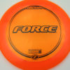 Force - orange - z-line - black - 304 - 173-175g - 177-0g - somewhat-domey - somewhat-stiff