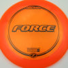 Force - orange - z-line - black - 304 - 173-175g - 175-4g - somewhat-domey - somewhat-stiff