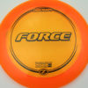Force - orange - z-line - black - 304 - 173-175g - 176-1g - somewhat-domey - somewhat-stiff