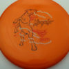 Mint Discs Mustang - orange - sublime - black - red - silver - 174g - 174-8g - super-flat - neutral