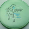 Mint Discs Mustang - green - sublime - black - blue - silver - 177g - 177-7g - pretty-flat - neutral