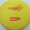 Boss - yellow - star - red - 304 - 1194 - 173-175g-2 - 173-9g - somewhat-flat - somewhat-stiff