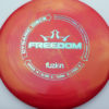 Freedom - redpink - biofuzion - oil-slick - 170g - 171-1g - somewhat-flat - neutral