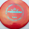 Freedom - red - biofuzion - teal - 172g - 173-3g - somewhat-flat - neutral