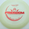 Freedom - glow - moonshine-glow - red - 174g - 175-5g - somewhat-flat - neutral