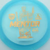Mentor - blue - active-premium - gold - 3619 - 172-0g - slight-dome-to-a-puddle-top-center - somewhat-stiff