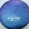 Opto-X Chameleon Fuse - JohnE McCray - blue-green-purple - silver - 179g - 179-9g - somewhat-domey - somewhat-stiff