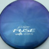 Opto-X Chameleon Fuse - JohnE McCray - blue-green-purple - silver - 179g - 179-6g - somewhat-domey - somewhat-stiff