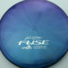 Opto-X Chameleon Fuse - JohnE McCray - blue-green-purple - silver - 178g - 179-6g - somewhat-domey - somewhat-stiff
