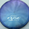 Opto-X Chameleon Fuse - JohnE McCray - blue-green-purple - silver - 179g - 179-8g - somewhat-domey - somewhat-stiff